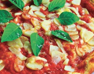 Pizzas délicieuses à la Trattoria de Mer