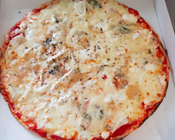 Pizzeria La Trattoria - Pizza 4 Fromages